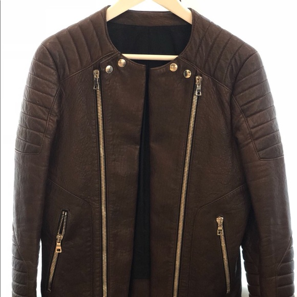 0406e795 Balmain Jackets & Coats | Leather Jacket Men | Poshmark